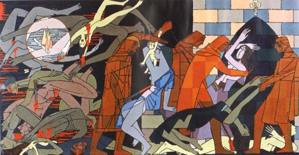 La massacre de Béziers, 1960, by Jacques Fauché,